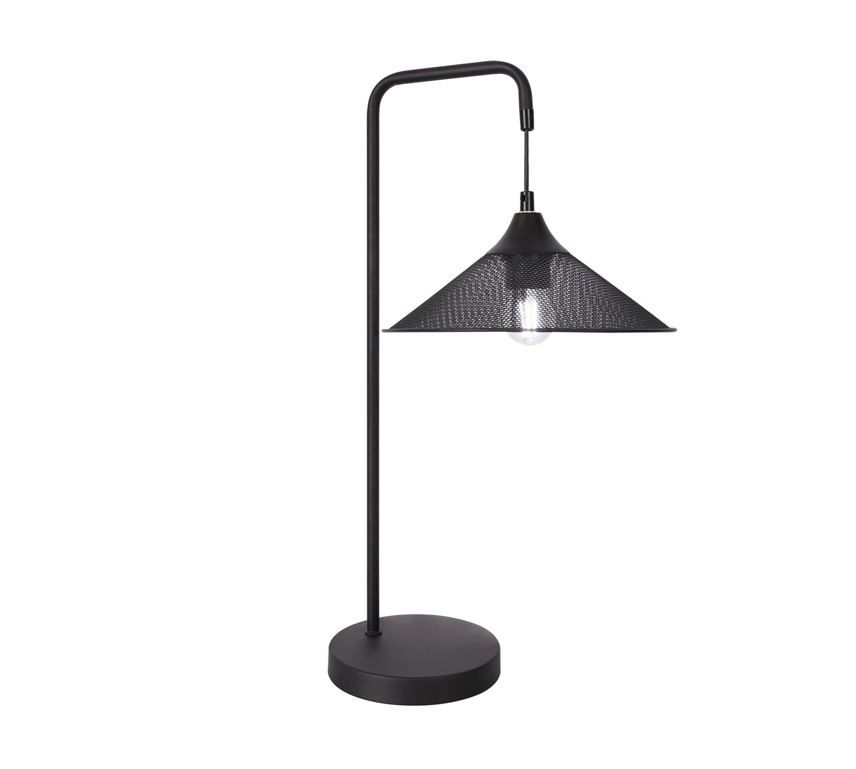 Lampa Stołowa Kiruna 1 Czarny 55X25X30