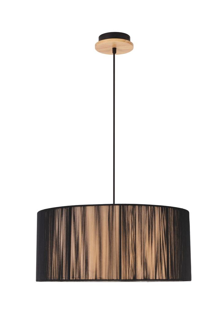 Lampa Wisząca Kioto 3 Czarny 100X45X45