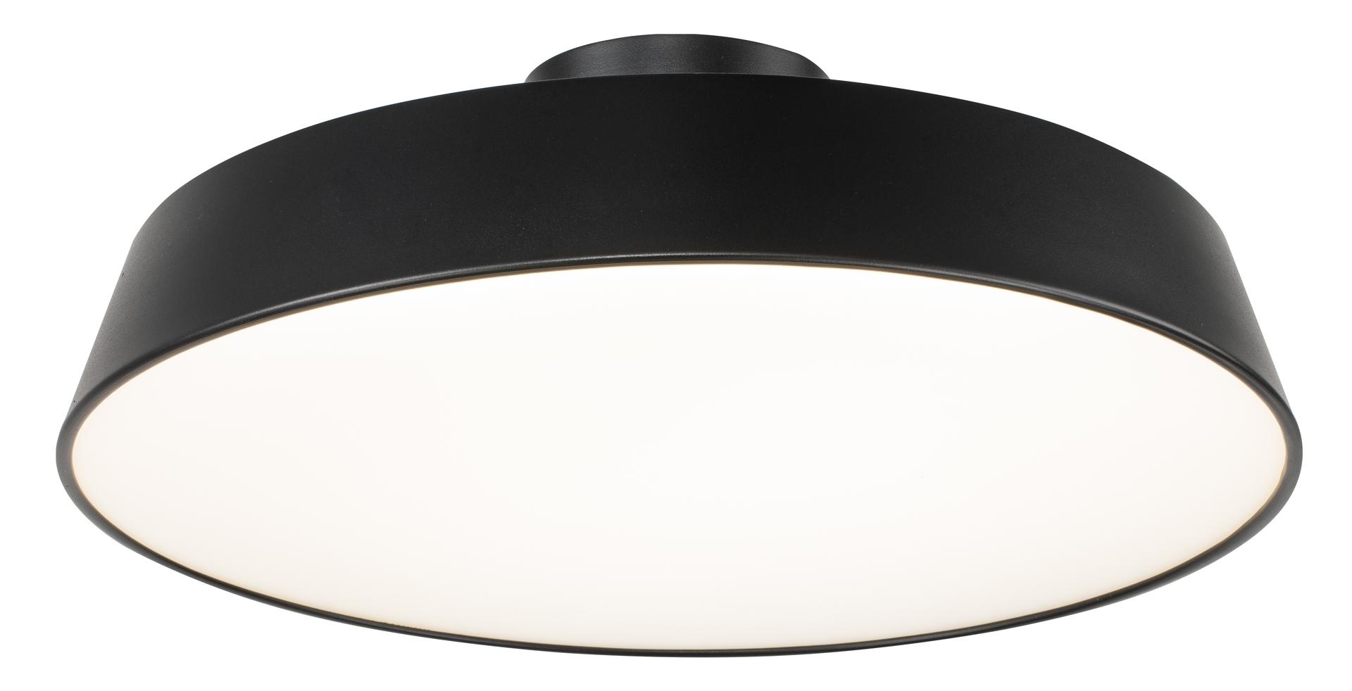 Lampa Sufitowa Orlando 1 Satynowy Czarny 30