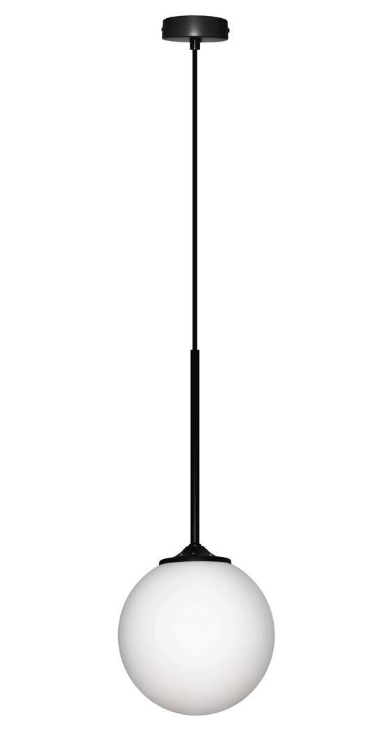 Lampa Wiszaca Glasgow Ii 1 Czarny 90X18X18