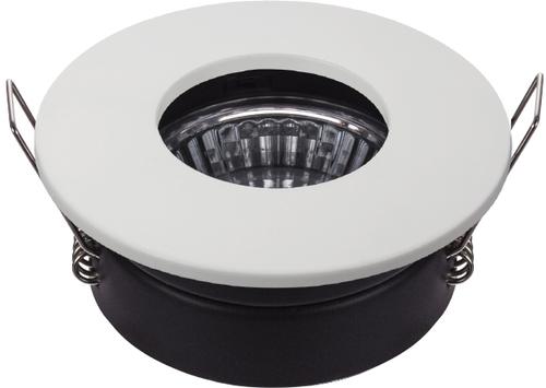 Sh-12 Wh Mr16 Biały  Oczko Sufitowe  Lampa Sufitowa Hermetyczna Ip65  Odporna Na Wilgoć