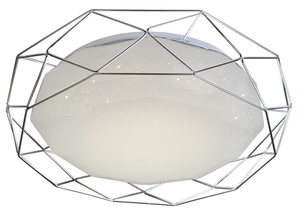 Lampa Plafon Sven 43 24W Led 4000K Chrom small 0