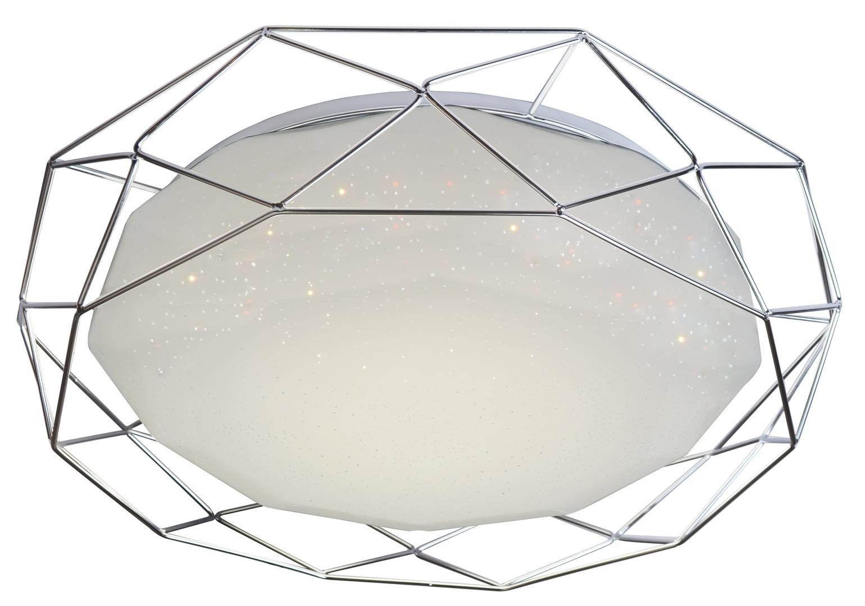 Lampa Plafon Sven 43 24W Led 4000K Chrom