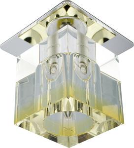Sk-19 Ch/Ye-P G4 Chrom Opr. Strop. Stała Kryształ 20W G4 Żółty Pasek small 0