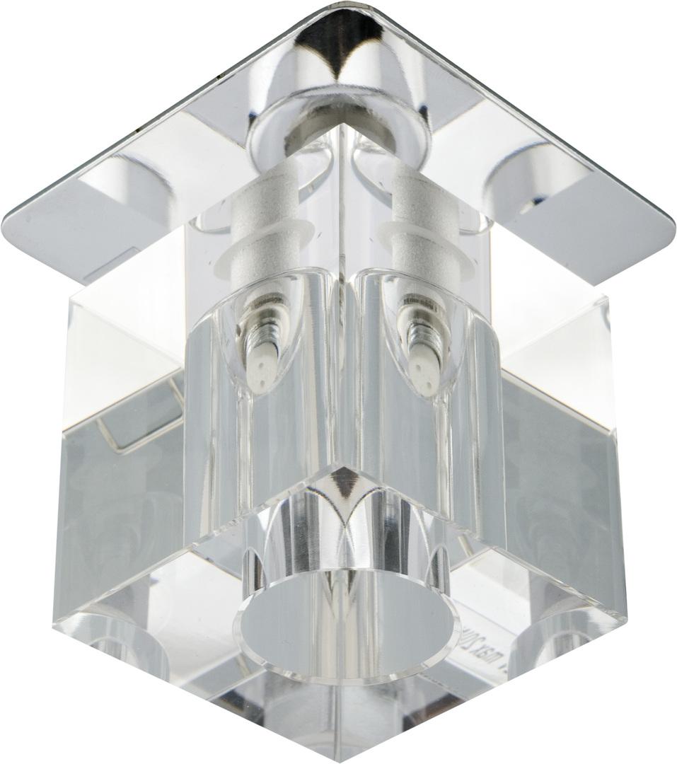 Sk-18 Ch/Wh G4 Chrom Opr. Strop. Stała Kryształ 20W G4 Transparentna