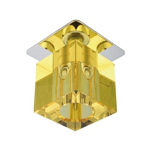Sk-18 Ch/Ye G4 Chrom Opr. Strop. Stała Kryształ 20W G4 Żółta