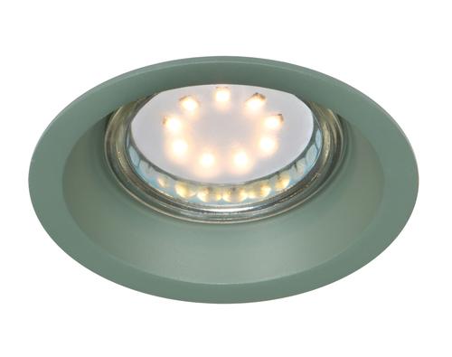 Sa-12 Gr Gu10 Max 35W 230V  Oczko Sufitowe  Lampa Sufitowa  Kolor Zielony  Aluminiowa