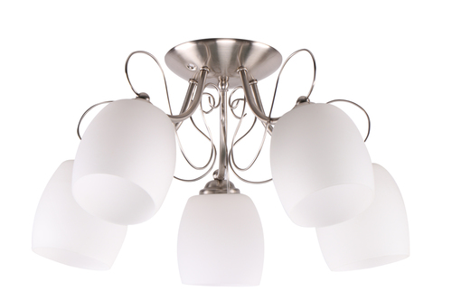 Amba Lampa Sufitowa 5X40W E27 Biały