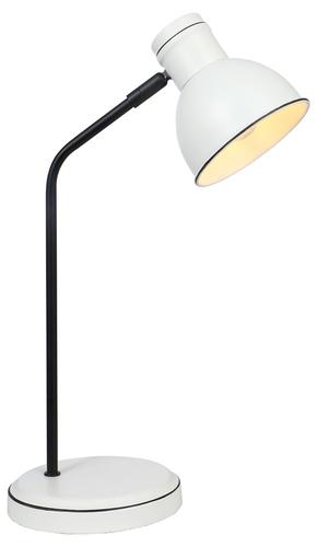Zumba Lampka Gabinetowa Sztyca Prosta 1X40W E14 Biały+Czarny