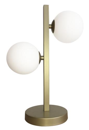 Kama Lampka Gabinetowa 2X28W G9 Mosiądz
