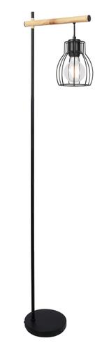 Bernita Lampa Podłogowa 1X60W E27Czarny
