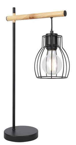 Bernita Lampa Gabinetowa 1X60W E27Czarny