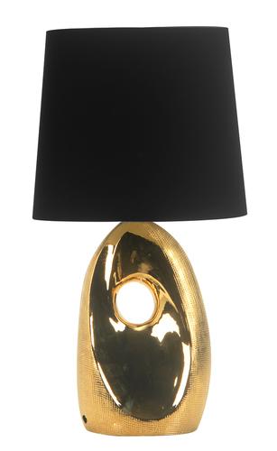 Hierro Lampa Gabinetowa 1X60W E27 Złota