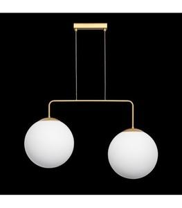 Lampa wisząca RETRO złota W-2 small 1