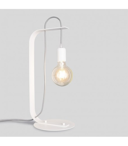 BORNHOLM Lampka biurkowa biała