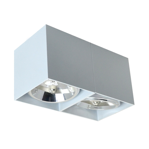 89949 G9 Box Sl 2 Spot Biały/White