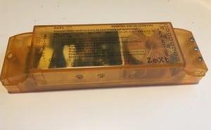 Transformator elektroniczny do oświetlenia halogenowego ZeXt KA-250(20-250W/VA) small 1