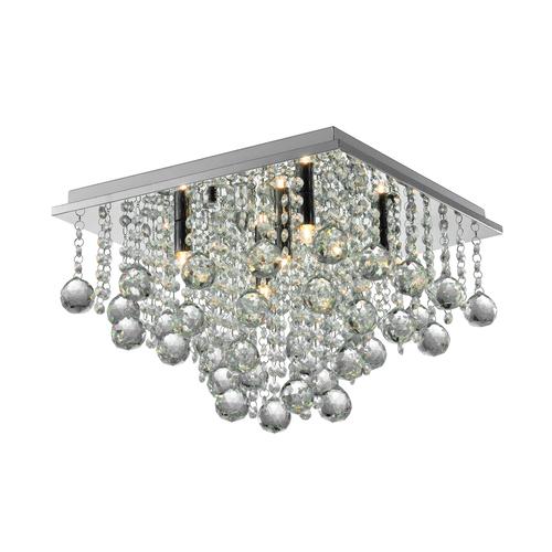 Rlx92711 5 Rangel Lampa Sufitowa Srebrna/Silver