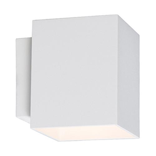 91062 Sola Wl Square Kinkiet Biały/White