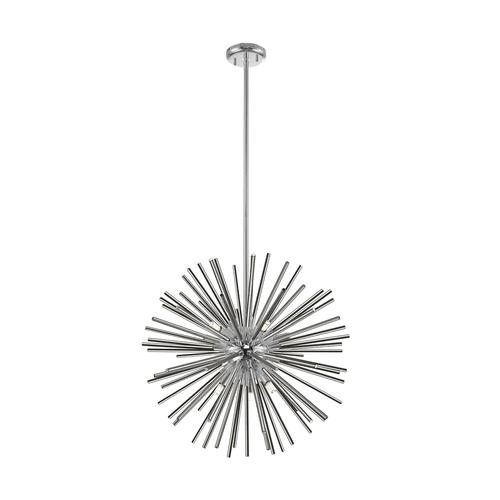 P0491 09 F F4 An Urchin Lampa Wisząca Chrome