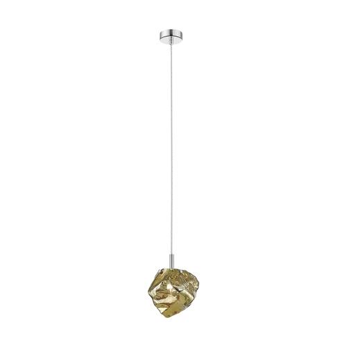 P0488 01 F F4 Hf Rock Lampa Wisząca Złota/Gold