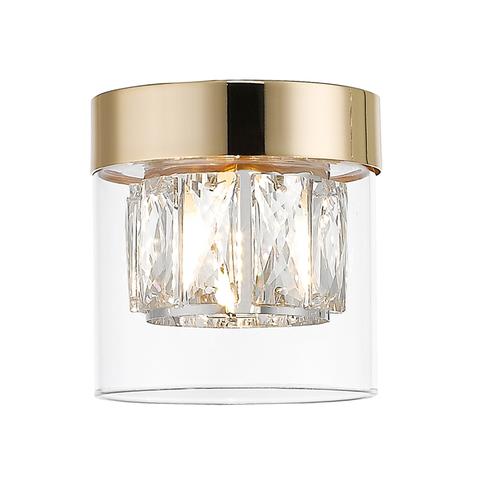 C0389 01 A F7 Ac Gem Lampa Sufitowa Złota/Gold