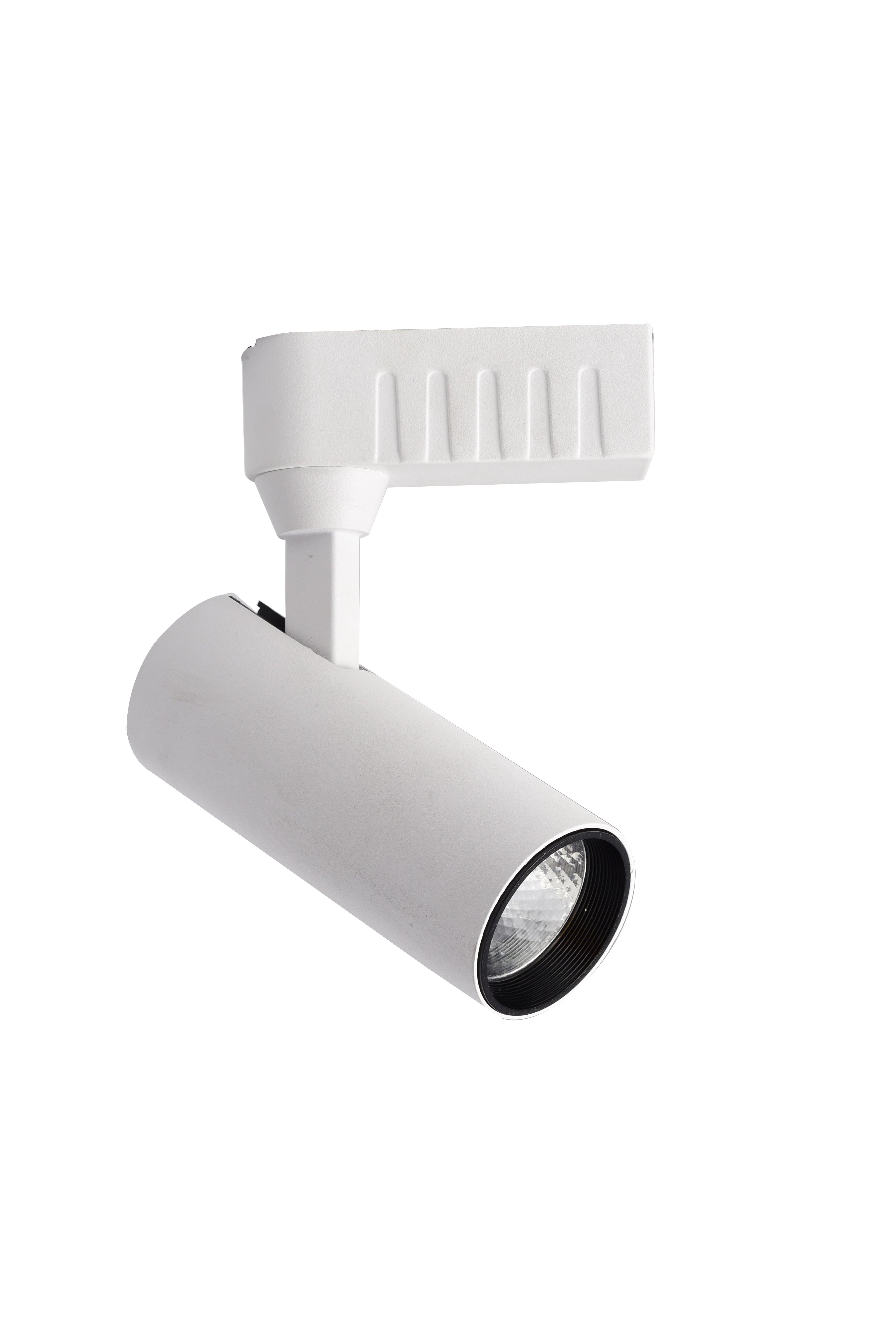 Biały Reflektor LED Rocca do szynoprzewodów