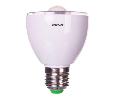 Żarówka LED z czujnikiem ruchu/czujnikiem zmierzchowym 5W E27 230V 3000K