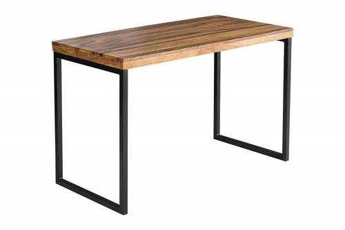 INVICTA biurko ELEMENTS Sheesham - drewno naturalne, metal