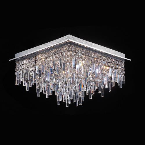 Klasyczny Plafon z Kryształkami Lavenda G4 17-punktowy