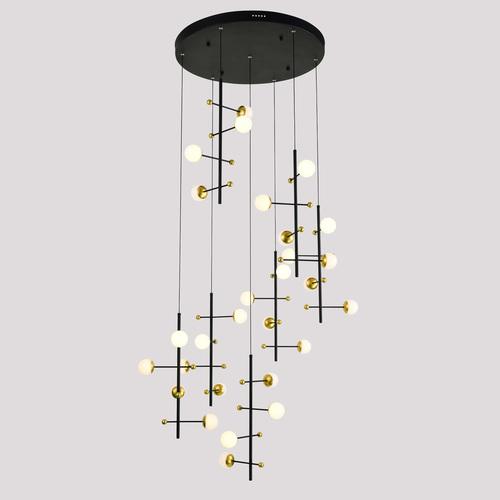 Nowoczesna Lampa Wisząca Helmond LED