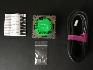 Wkład regulatora temp.ogrzewania podłogowego z wyłącznikiem MERTEN 230V AC,10(4) A small 1