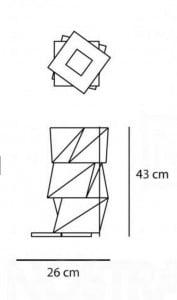 Lampa stołowa Artemide MOGURA MINI small 2