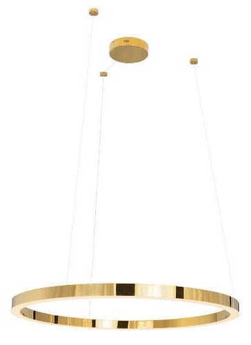 Luxury P0370 lampa wisząca złota duża P0370D Max Light