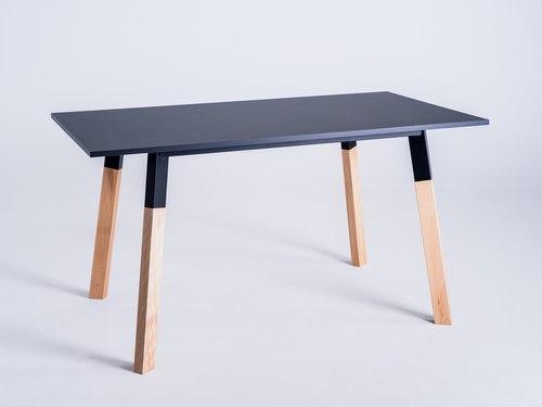 Stół jadalniany PRATO 140 - czarny
