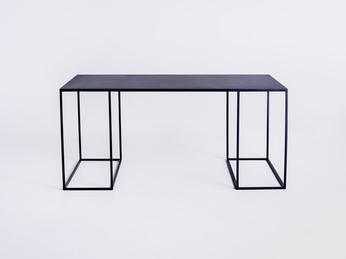 Stół kawowy TORGET METAL 100X60 - czarny