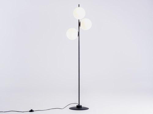 Lampa podłogowa BOBLER - czarna