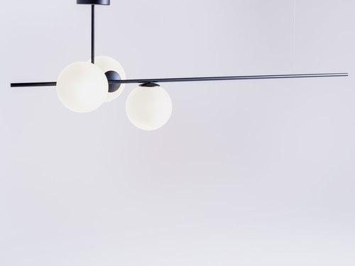 Lampa wisząca BOBLER horizontal - czarny