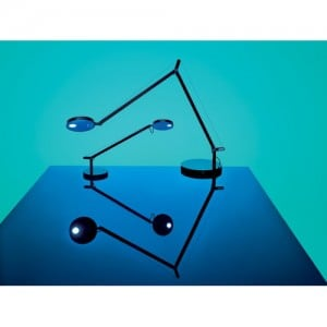 Lampa stołowa Artemide Demetra Micro Table Czarna 2700K small 2