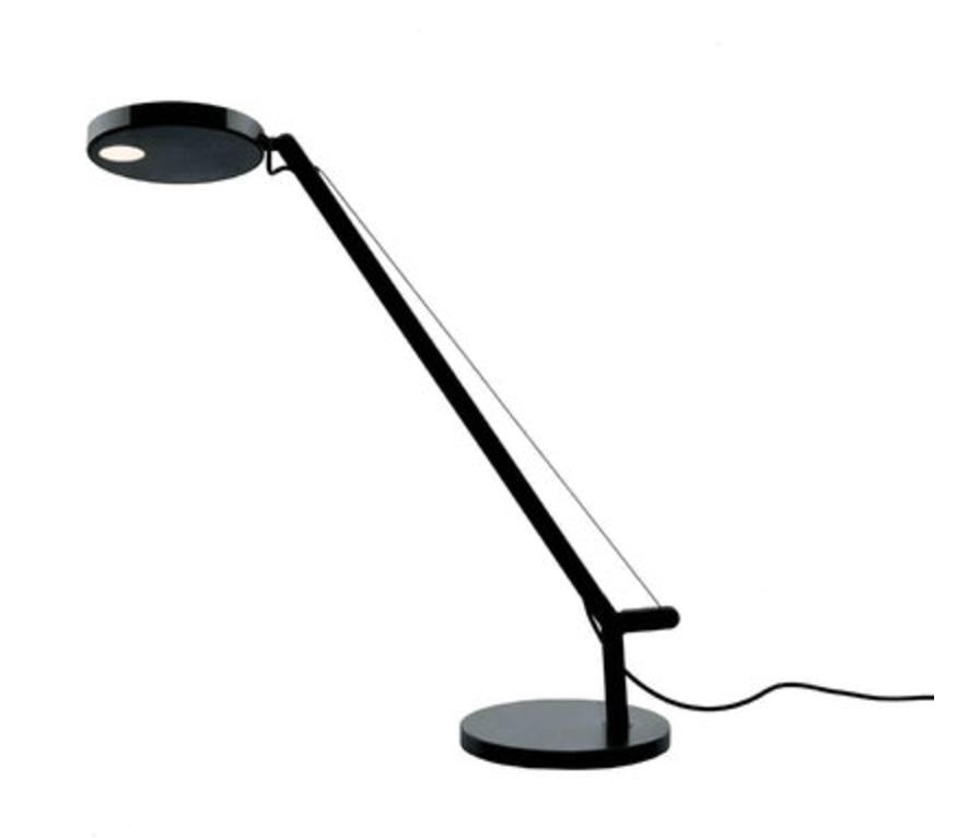 Lampa stołowa Artemide Demetra Micro Table Czarna 2700K