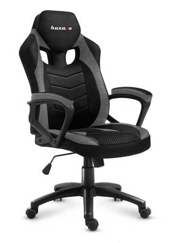 Ultra wygodny fotel gamingowy HZ-Force 2.5 Grey Mesh