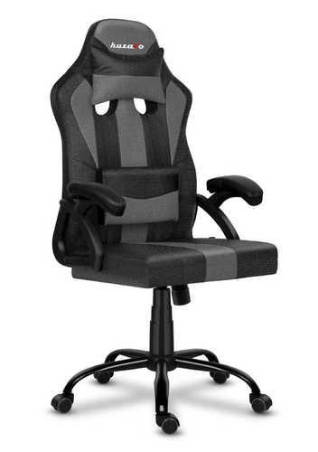Ultra wygodny fotel gamingowy HZ-Force 3.0 Grey Mesh