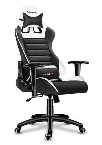 Ultra wygodny fotel gamingowy HZ-Force 6.0 White Mesh