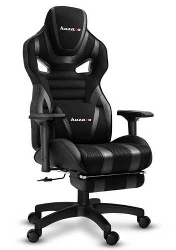 Ultra wygodny fotel gamingowy HZ-Force 7.5 Black Mesh