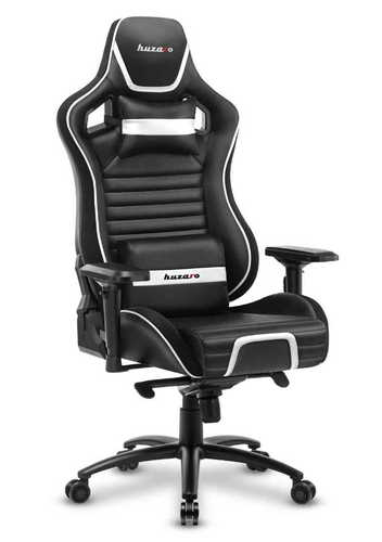 Ultra wygodny fotel gamingowy HZ-Force 8.2 White