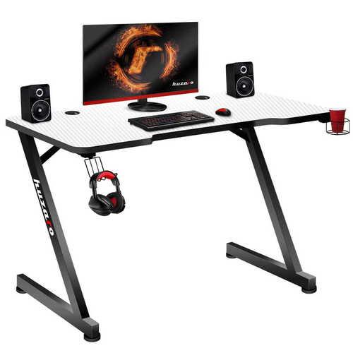 Ultra nowoczesne biurko gamingowe HZ-Hero 2.5 White