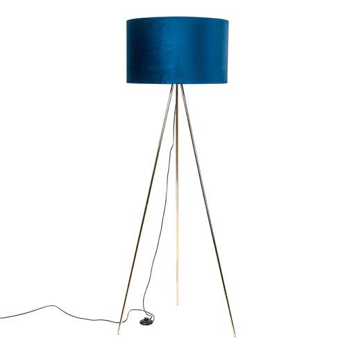 Lampa Podłogowa Inga H06 Gd Bk