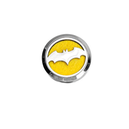 Dekoracyjny odświeżacz powietrza do samochodu, dyfuzor olejków eterycznych - Batman, stal nierdzewna