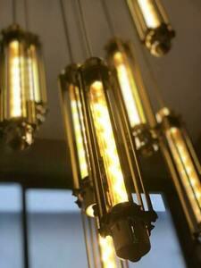 Lampa wisząca Abigali Retro Pionowa small 3