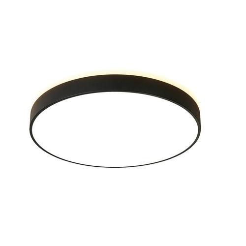 Plafon LED okrągły czarny Abigali 600*65mm 60W 3000K